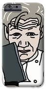 Gordon Ramsay iPhone Case by Jera Sky