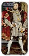 Henry VIII iPhone Case by Hans Holbein the Younger