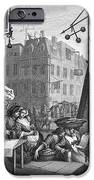 HOGARTH: BEER STREET iPhone Case by Granger