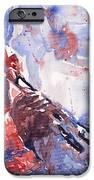Jazz Miles Davis 15 iPhone Case by Yuriy  Shevchuk