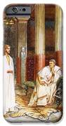 Jesus Being Interviewed Privately iPhone Case by William Brassey Hole