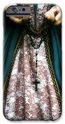 lady with rosary iPhone Case by Joana Kruse