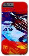 Lancia Stratos Watercolor 2 iPhone Case by Naxart Studio