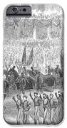 LINCOLNS FUNERAL, 1865 iPhone Case by Granger