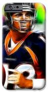 Magical Peyton Manning Borncos iPhone Case by Paul Van Scott