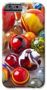 Marbles close up iPhone Case by Garry Gay