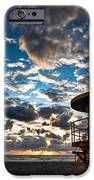 Miami Dawn iPhone Case by Dave Bowman