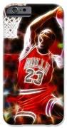Michael Jordan Magical Dunk iPhone Case by Paul Van Scott