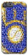 Milwaukee Brewers Mosaic iPhone Case by Paul Van Scott