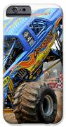 Monster Trucks - Big Things Go Boom iPhone Case by Christine Till