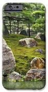 Mossy Japanese Garden iPhone Case by Carol Groenen