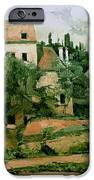 Moulin de la Couleuvre at Pontoise iPhone Case by Paul Cezanne