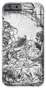 Nativity iPhone Case by Rembrandt