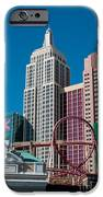 New York New York Hotel iPhone Case by Andy Smy