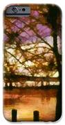 Newburgh Beacon Bridge Purple skies iPhone Case by Janine Riley