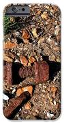Nuts and Bolts Rusted iPhone Case by Douglas Barnett