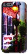 Old City Streets - Elfreth's Alley iPhone Case by Bill Cannon