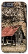 Old Mountain Cabin iPhone Case by Debra and Dave Vanderlaan