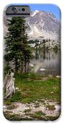On the Snowy Mountain Loop iPhone Case by Marty Koch