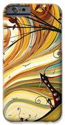 OUT WEST Original MADART Painting iPhone Case by Megan Duncanson