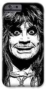 Ozzy No.01 iPhone Case by Caio Caldas