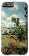Path through the Poppies iPhone Case by Claude Monet