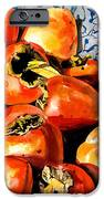 Persimmons iPhone Case by Nadi Spencer