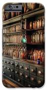 Pharmacy - So many drawers and bottles iPhone Case by Mike Savad