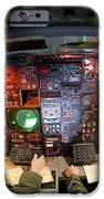 Pilots At The Controls Of A B-52 iPhone Case by Stocktrek Images