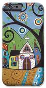 Polkadot Church iPhone Case by Karla Gerard