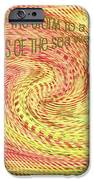 Psalm 107 iPhone Case by Bonnie Bruno