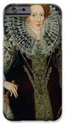 Queen Elizabeth I iPhone Case by John the Younger Bettes