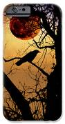 Raven Moon iPhone Case by Bill Cannon