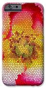 Red and White and Glass iPhone Case by Leonard Rosenfield