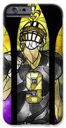 Saint Brees iPhone Case by Mandie Manzano