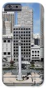 San Francisco - Union Square - 5D17938 iPhone Case by Wingsdomain Art and Photography