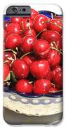 Simply a Bowl of Cherries iPhone Case by Carol Groenen