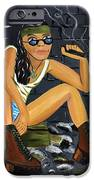 Smoke Break  iPhone Case by Victoria  Johns