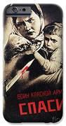 SOVIET POSTER, 1942 iPhone Case by Granger