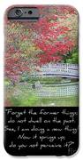 Spring Revival iPhone Case by Carol Groenen