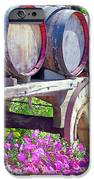 Springtime at V Sattui Winery St Helena California iPhone Case by Michelle Wiarda