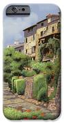 St Paul de Vence iPhone Case by Guido Borelli