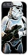 Storm Trooper iPhone Case by Paul Ward