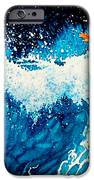 Surfer Girl iPhone Case by Hanne Lore Koehler