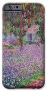 The Artists Garden at Giverny iPhone Case by Claude Monet