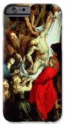 The Descent from the Cross iPhone Case by Peter Paul Rubens