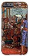 The Finding of the Savior in the Temple iPhone Case by William Holman Hunt