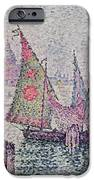 The Green Sail iPhone Case by Paul Signac