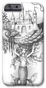 The Mermaid Fantasy iPhone Case by Adam Zebediah Joseph