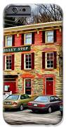 The Trolley Stop iPhone Case by Stephen Younts